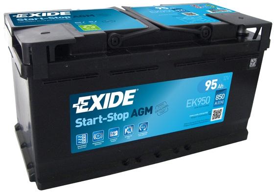 EXIDE Start-Stop AGM Štartovacia batéria