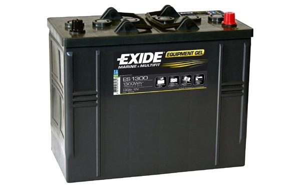 EXIDE Equipment GEL Štartovacia batéria