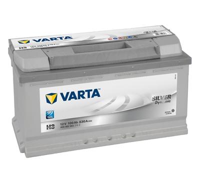 VARTA SILVER dynamic Štartovacia batéria