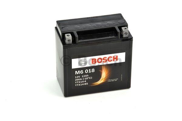 M6 Motobateria BOSCH YTX14-BS 0 092 M60 180