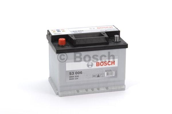 S3 Autobatéria BOSCH S3/12V, 56AH 480A - 0092S30060