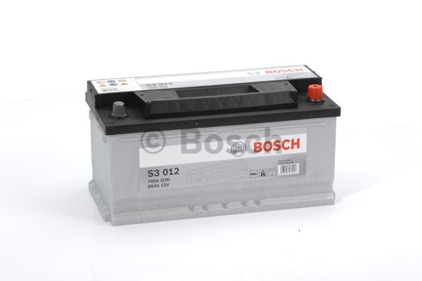 S3 Autobatéria BOSCH S3/12V, 88Ah, 740A - 0092S30120