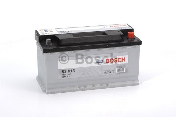 S3 Autobatéria BOSCH S3/12V, 90Ah, 720A - 0092S30130