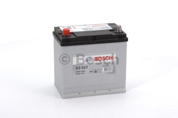 S3 Autobatéria BOSCH S3/12V, 45AH, 300A - 0092S30170