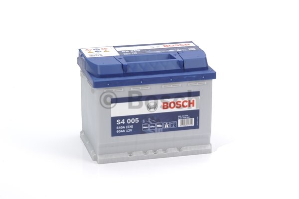 S4 Autobatéria BOSCH S4/12V, 60Ah, 540A - 0092S40050
