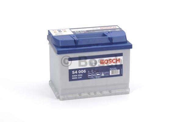S4 Autobatéria BOSCH S4/12V, 60Ah, 540A - 0092S40060
