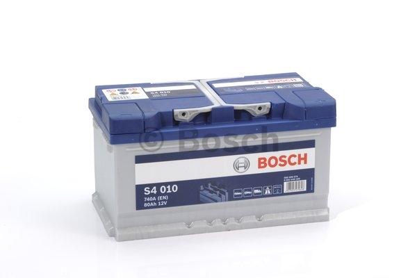 S4 Autobatéria BOSCH S4/12V, 80Ah, 740A - 0092S40100