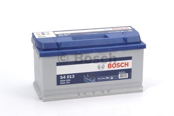 S4 Autobatéria BOSCH S4/12V, 95Ah, 800A - 0092S40130