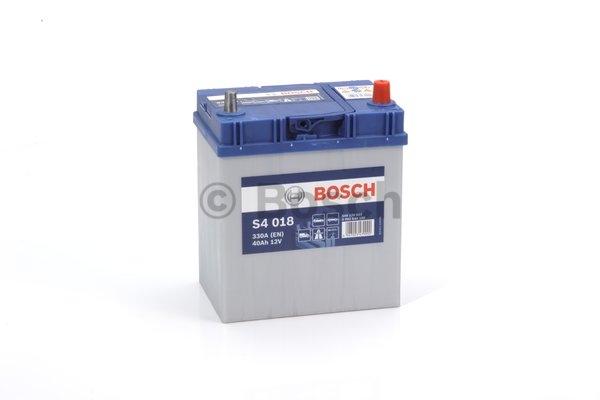 S4 Autobatéria BOSCH S4/12V, 40Ah, 330A - 0092S40180
