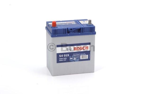 S4 Autobatéria BOSCH S4/12V, 40Ah, 330A - 0092S40190