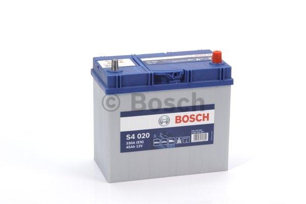 S4 Autobatéria BOSCH S4 12V, 45Ah 330A - 0092S40200