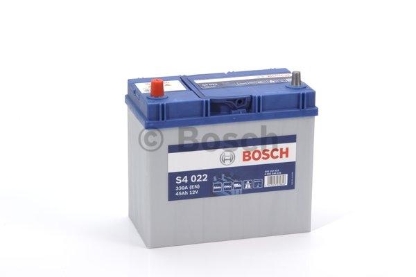 S4 Autobatéria BOSCH S4/12V, 45Ah, 330A - 0092S40220