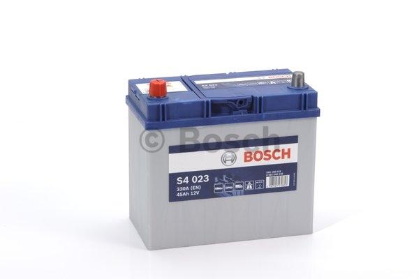S4 Autobatéria BOSCH S4/12V, 45Ah, 330A - 0092S40230