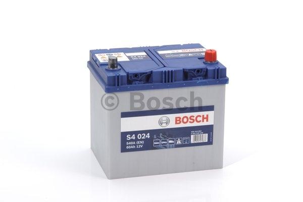 S4 Autobatéria BOSCH S4/12V,60Ah ,540A 0092S40240