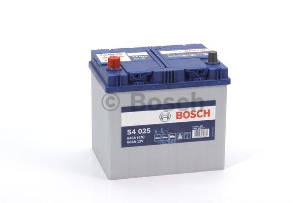 S4 Autobatéria BOSCH S4/ 12V, 60A ,540A 0092S40250