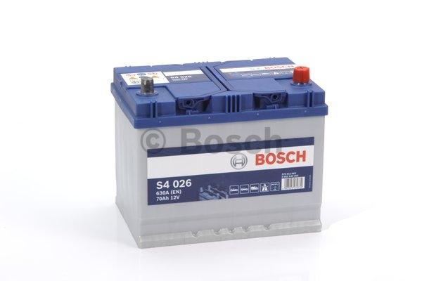 S4 Autobatéria BOSCH S4/12V, 70Ah, 630A - 0092S40260