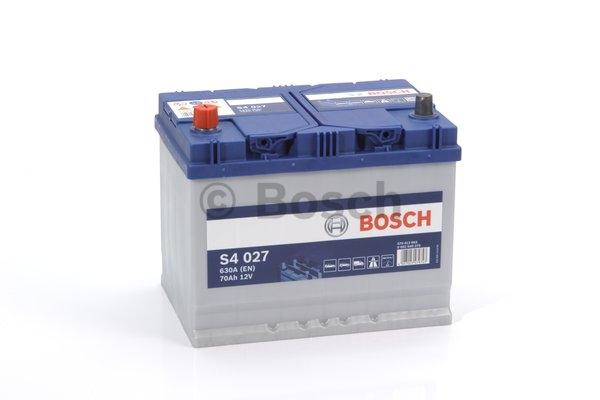 S4 Autobatéria BOSCH S4/12V, 70Ah, 630A - 0092S40270