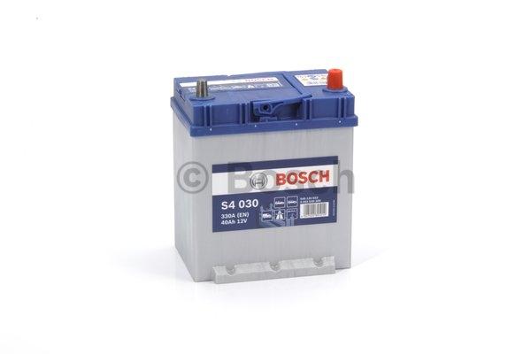 S4 Autobateria Bosch 12V 40 ah 330A-0092s40300