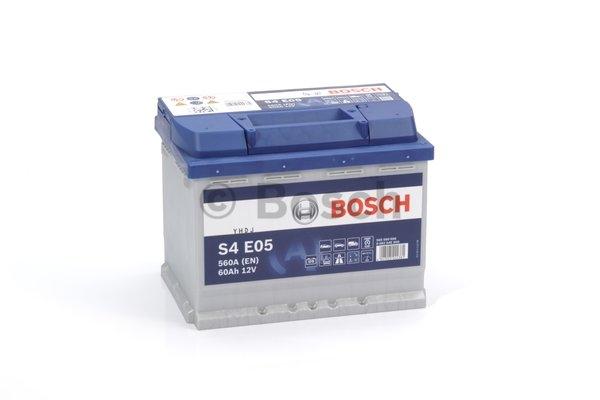 S5 Autobateria Bosch 60ah 540A Start-Atop EFB 0092S4E050