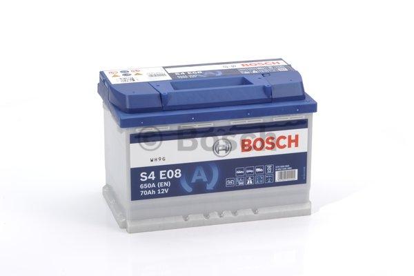 S5 Autobateria BOSCH S4 E08, 70Ah, 12V, EFB 0 092 S4E 080