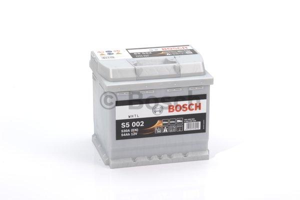 S5 Autobatéria BOSCH S5/12V, 54Ah, 530A - 0092S50020