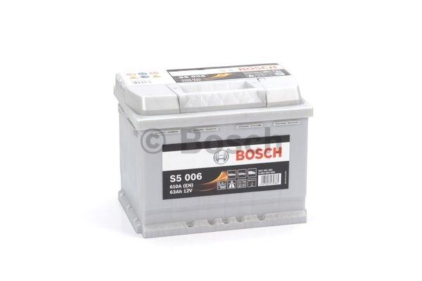 S5 Autobatéria BOSCH S5/12V, 63Ah, 610A - 0092S50060