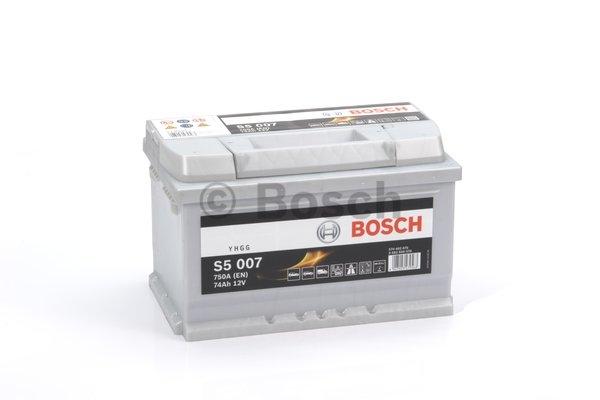 S5 Autobatéria BOSCH S5/12V, 74Ah, 750A - 0092S50070