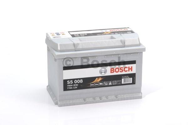 S5 Autobatéria BOSCH S5/12V, 77Ah, 780A - 0092S50080