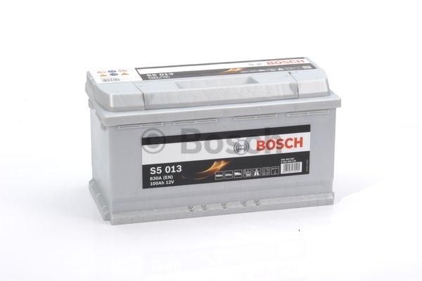 S5 Autobatéria BOSCH S5/12V, 100Ah, 830A - 0092S50130