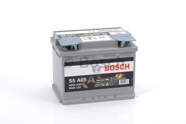 S5A Autobatéria BOSCH Start-Stop 12V, 60Ah 680A, 0092S5A050