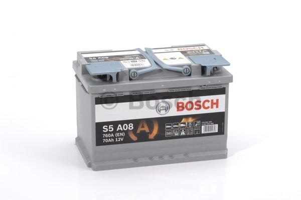 S5A Autobatéria BOSCH Start-Stop AGM 12V, 70Ah 760A, 0092S5A080