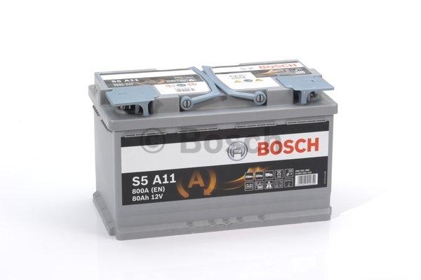 S5A Autobatéria BOSCH Start-Stop AGM 12V, 80Ah 800A, 0092S5A110