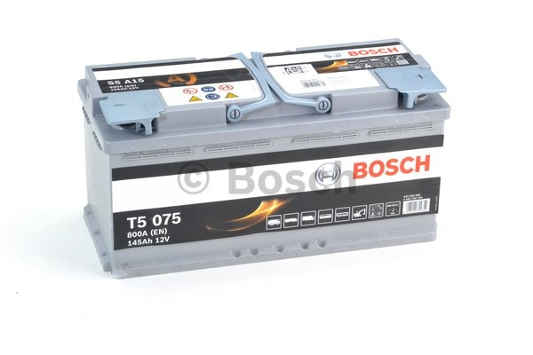 S5A Autobatéria BOSCH Start-Stop AGM 12V, 105Ah 950A  0092S5A150