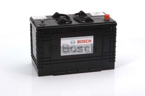 T3 Autobateria Bosch T3 110Ah 680A 0092T30370