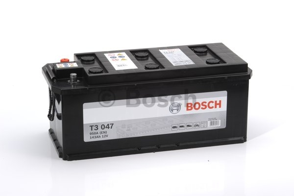 T3 Autobatéria Bosch T3 047 143 AH 950A, 0092t30470