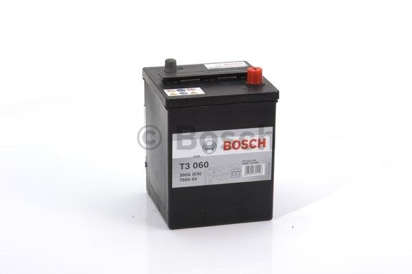 T3 Štartovacia batéria Bosch T3 6V 70Ah 300A  0092T30600