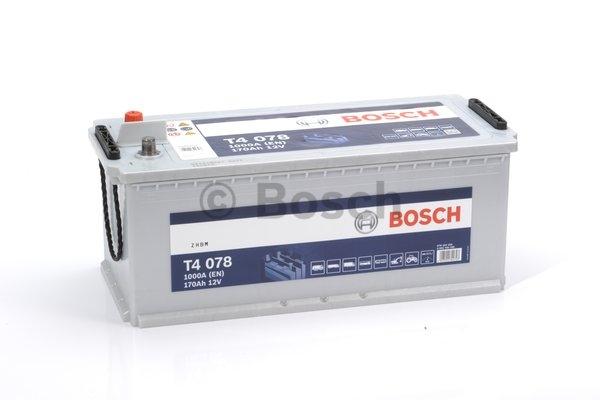 T4 Autobatéria BOSCH T4 - 12V, 170Ah, 1000A 0092T40780