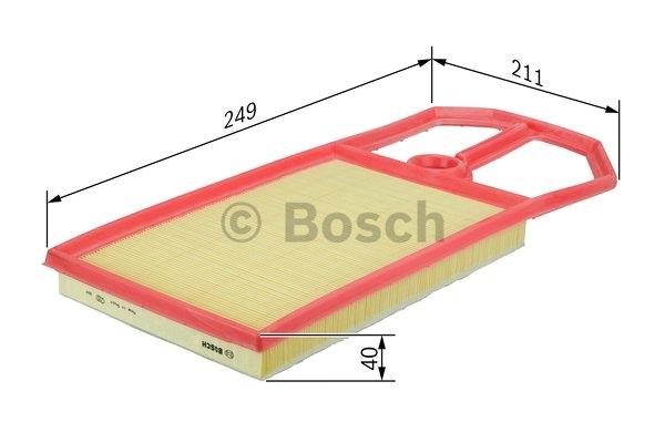 Vzduchový filter Bosch