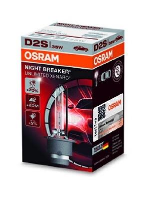 OSRAM XENARC® NIGHT BREAKER® UNLIMITED Xenónová výbojka D2S Osram NIGHT BREAKER UNLIMITED