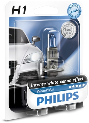 Philips 12V H1 55W P14,5s WhiteVision blister