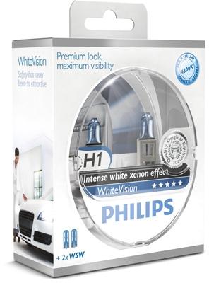 WhiteVision żiarovka pre diaľkový svetlomet