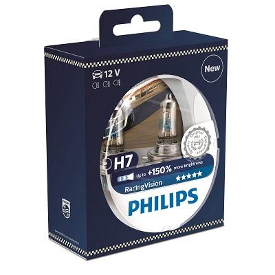 Philips RacingVision 12972RVS2 H7 PX26d 12V 55W 2 ks