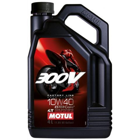 MOTUL 300V FACTORY LINE 4T 10W-40 4L.