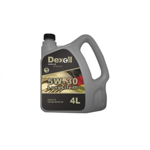 Motorový olej Dexoll 5W-30 LL III 4L