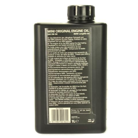 Motorový olej MINI Original Engine oil LL04 5W-30 1L