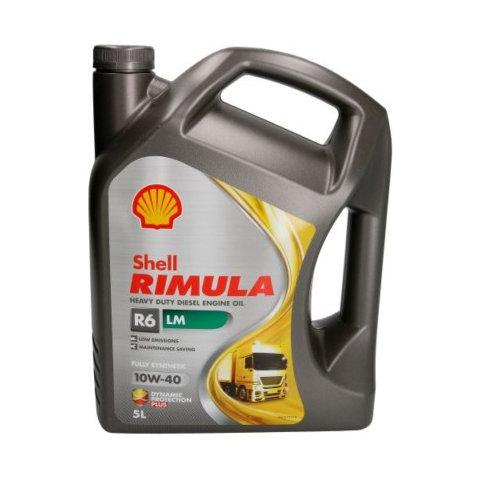 SHELL RIMULA R6 LM 10W-40 5L.