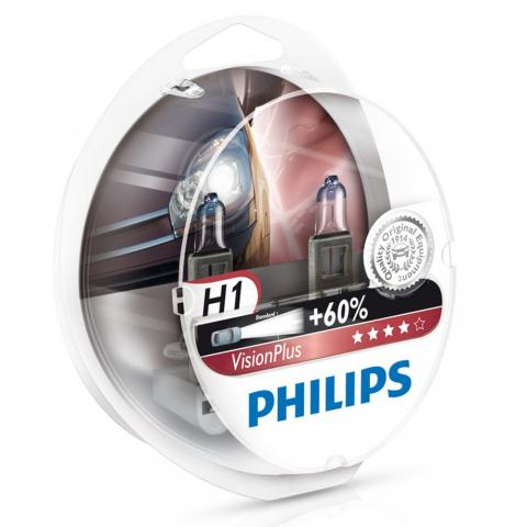 Philips 12V H1 Vision Plus +60% Box