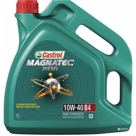 Motorový olej CASTROL MAGNATEC DIESEL B4 10W-40 4L