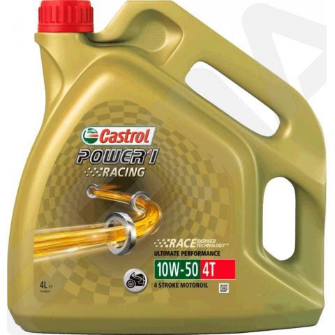 Motorový olej Castrol Power 1 Racing 4T 10W-50 4L.