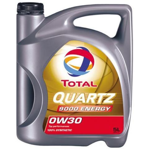 Motorový olej Total quartz energy 9000 0w-30 5L